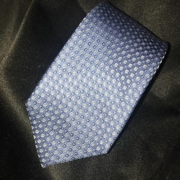 MICHAEL Michael Kors Light Blue 100% Silk …